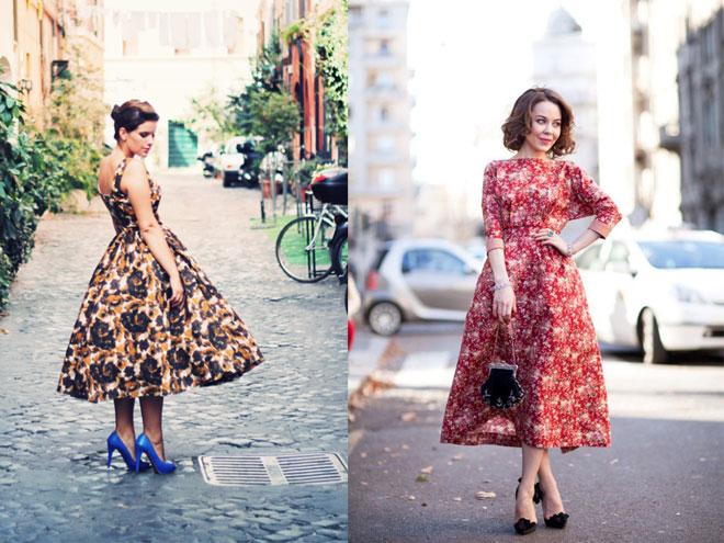 модное платье-солнце
