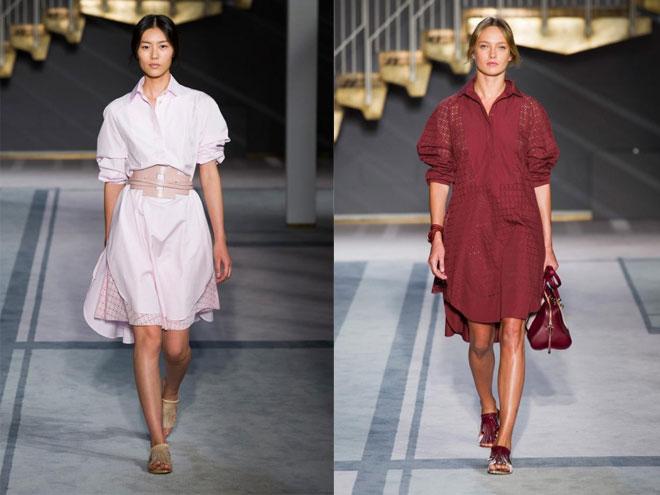 Короткие летние платья мода 2015