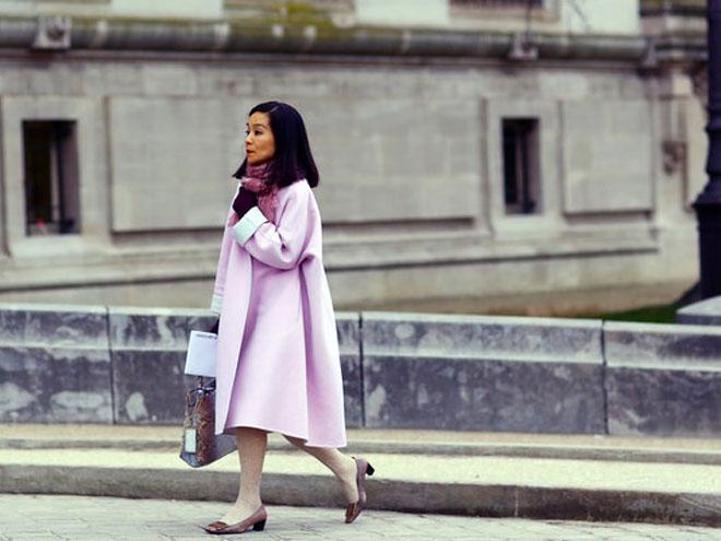 Необычное весеннее пальто