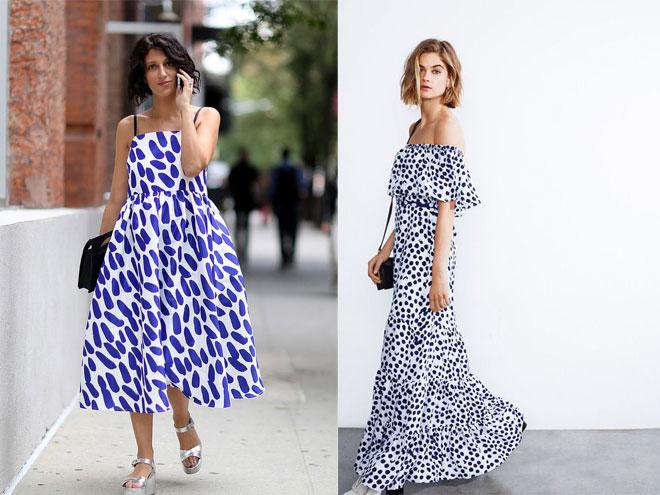 Платья с рюшами длинное фото