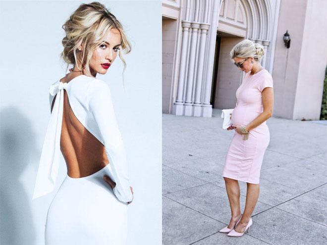 Гипюровое платье футляр фото модного образа