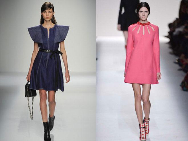Актуальные модели зимних платьев 2016