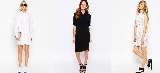 Платья-рубашки – удобное и практичное решение, как для офиса, так и для досуга
