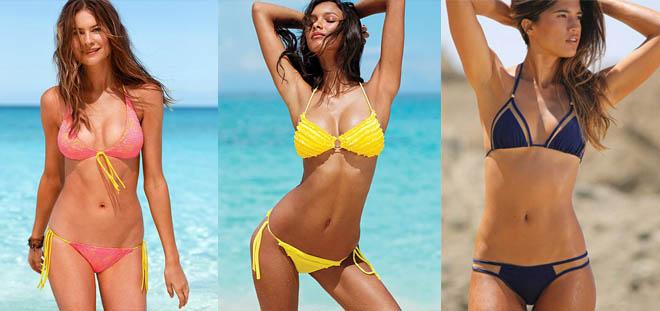 Стань королевой пляжа, в этом тебе непременно помогут купальники с дополнительными стрингами