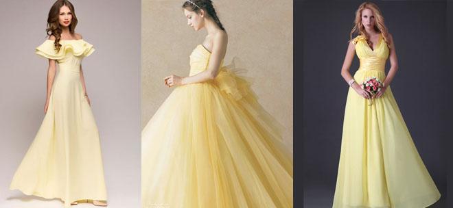 Яркое красное, желтое или синее свадебное платье – запросто!