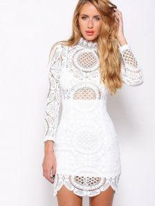 Платье с кружевом купить киев