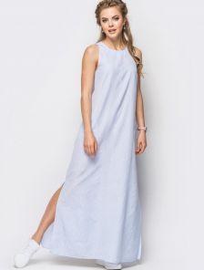 Стильное и практичное платье в полоску