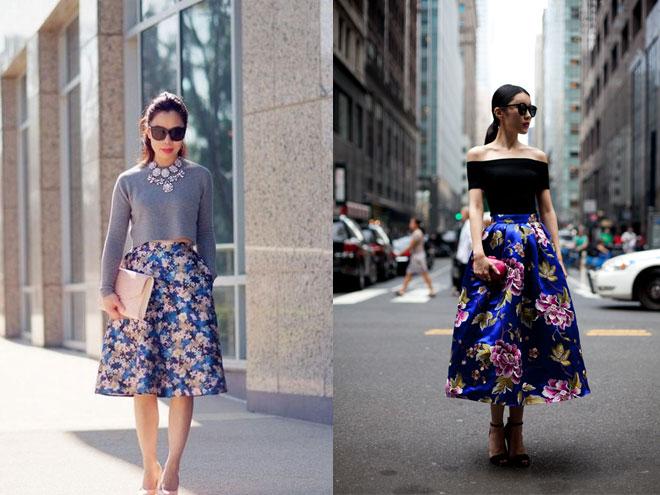 Платья в цветочный принт