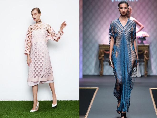 Модная изюминка: одежда и платья с перфорацией