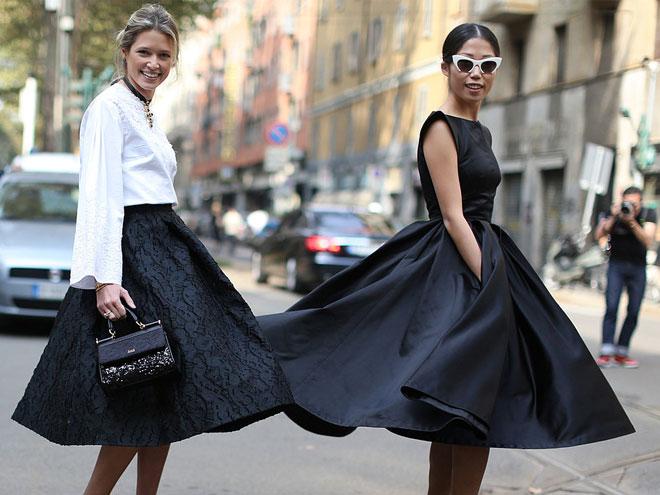фасоны платьев для выпускного - платье в стиле New Look
