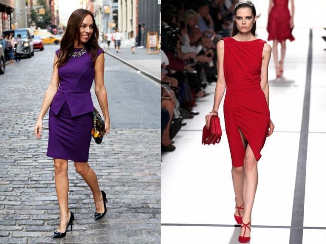 Как выбрать платье-футляр на выпускной
