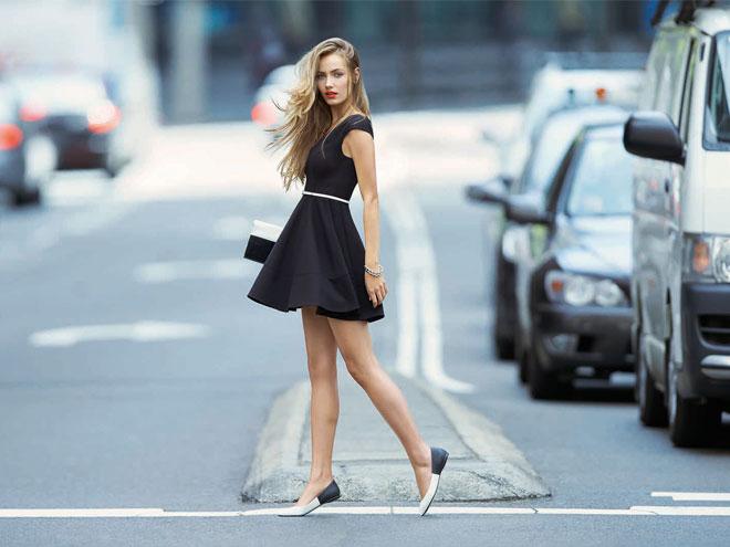 варианты платьев для выпускного - короткое пышное платье