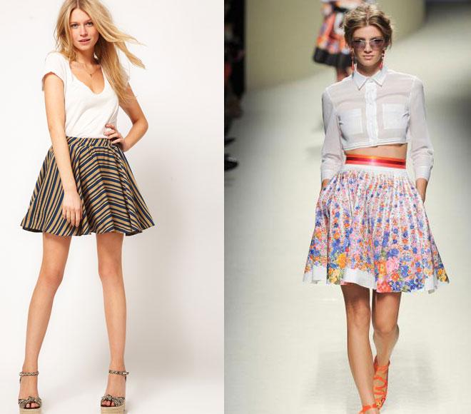 Модные весенние юбки - хит-парад женственности
