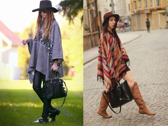 модные шляпки и платья на осень