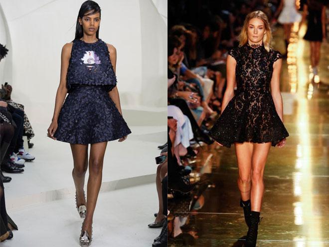 С чем носить черное летнее платье, фото