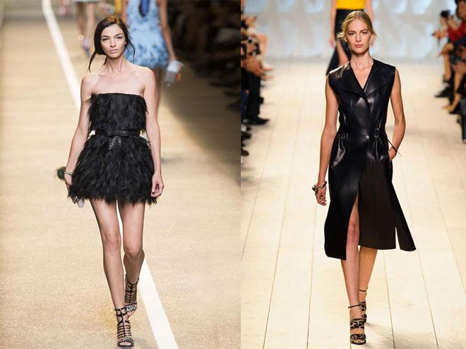 Как выбрать черное летнее платье