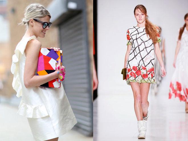 Кому подходит прямое летнее платье, фото образов