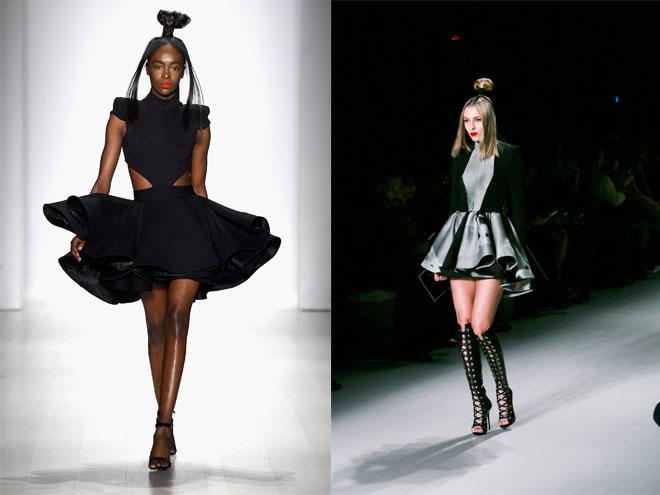 Как носить пышное летее платье