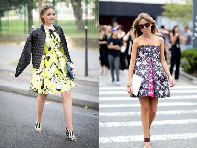 Кому подходит пышное летнее платье