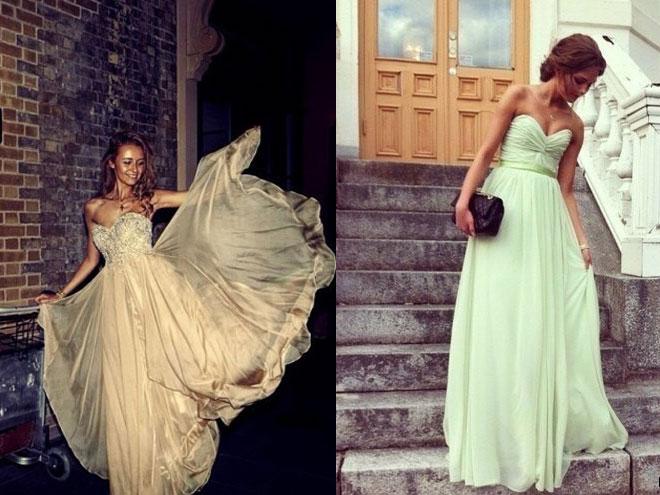 Какие выпускные платья модные?