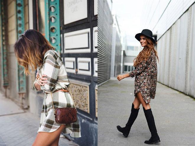 модное в этом году прямое платье рубашка