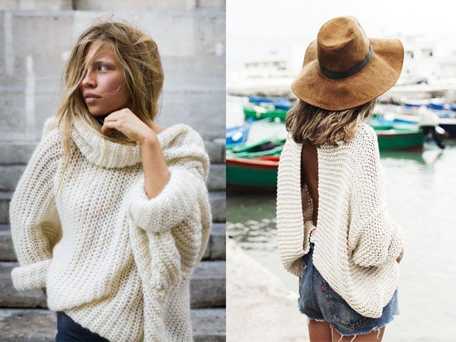 Подбираем свитер по фигуре