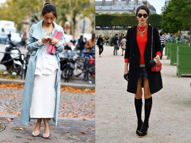 Модное классическое пальто