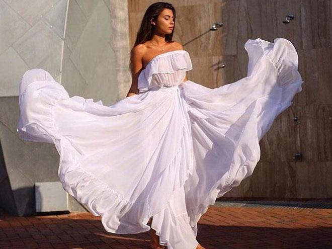 Какие летние платья модные, фото