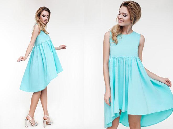 Как носить летнее платье трапецию
