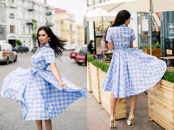 Как выбрать пышное летнее платье