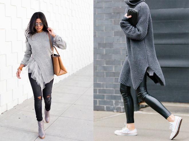 Модные зимние свитера 2015-2016