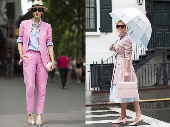С чем носить розовую одежду?