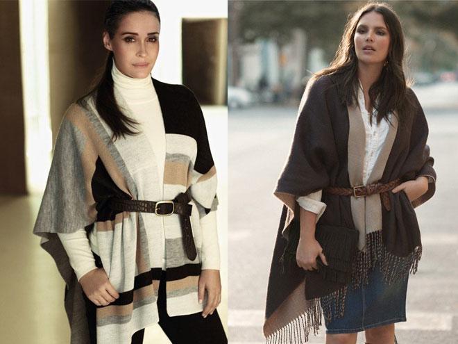 Зимняя мода дял полных