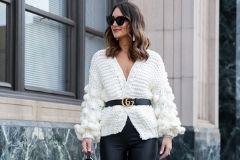 Базовый элемент гардероба: с чем носить белый кардиган? ♥ Самые стильные и красивые образы с белым кардиганом ♥
