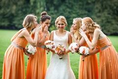 Идеальное шифоновое платье для подружки невесты - свадьба с нотками легкости