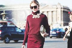 Бокальчик красного? Модные платья красного цвета