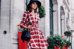 5 видов модного клетчатого платья