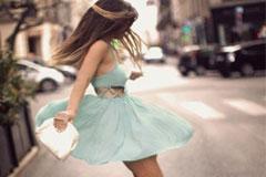 Летняя мода под шифо… Популярные фасоны шифоновых платьев