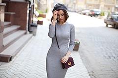 Максимальное утепление: как носить длинные платья, чтобы было комфортно и красиво