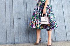 Мода прямо расцвела, Актуальные платья с цветочными принтами