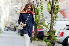 Модные открытия: как носить короткие платья вначале весны, чтобы было тепло и стильно