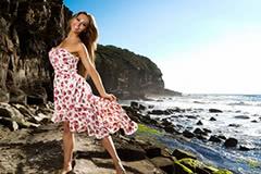 какие короткие платья в моде летом