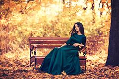 Трикотажное платье – фаворит грядущего осеннего сезона