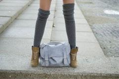 Соблазнительная одежка для женских ножек: как носить теплые чулки?