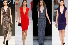 Особенно прекрасно: выбираем платье для большой груди