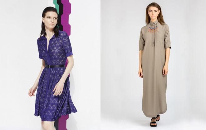 Как носить платье-рубашку? фото и идеи образов