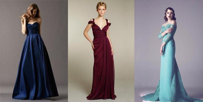 Какой цвет платья на выпускной в моде?