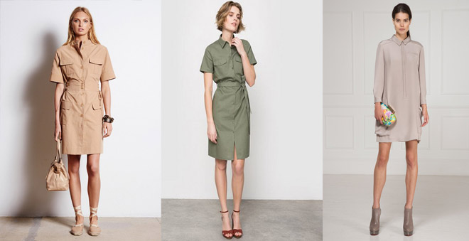 Деловое платье-рубашка, фото и идеи образов для офиса