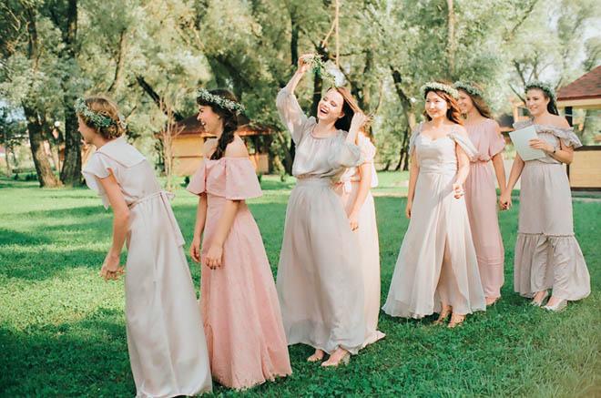 23dbc22cce4 Свадьба с нотками легкости – идеальное шифоновое платье для подружки невесты