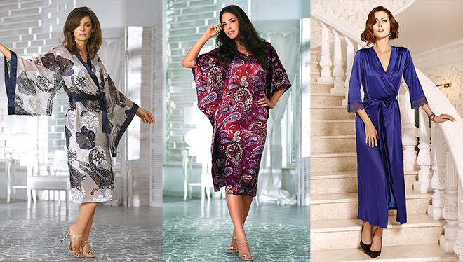 Что носить дома: женские халатики на все случаи жизни